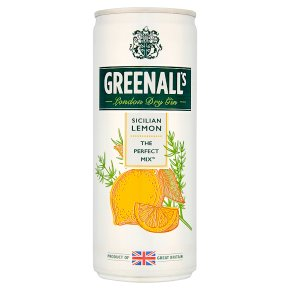 Greenall's Gin & Sicilian Lemon