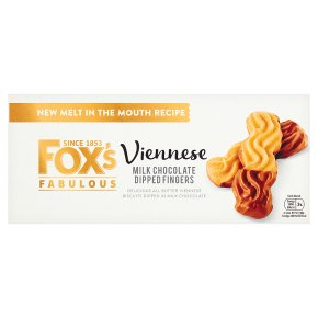 Fox's Viennese Milk Chocolate Dipped Fingers