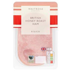 Waitrose British Honey Roast Ham 6 Slices