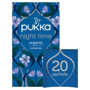 Pukka Organic Night Time 20 Tea Sachets
