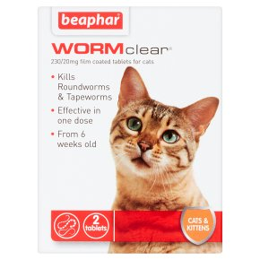 Beaphar WORMclear for Cats