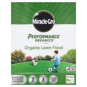 Miracle-Gro Performance Organics Lawn Food