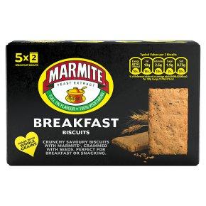 Marmite Breakfast Biscuits