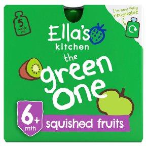 Ella's Kitchen the green one smoothie fruit