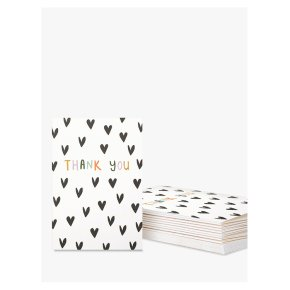Caroline Gardner Hearts Note Cards