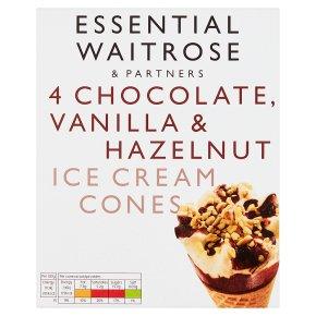 Essential Chocolate & Vanilla Cones