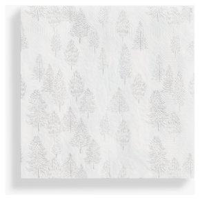 TT Metallic Trees Napkin 33cm