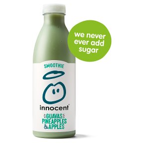 Innocent Smoothie Guavas Pineapples & Apples