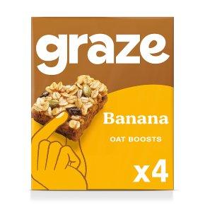 Graze Banana Protein Oat Bites
