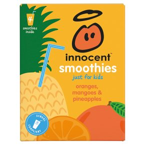 Innocent Smoothies Just for Kids Orange Mango Pineapple