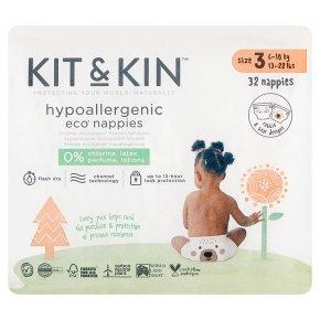 Kit & Kin Nappies Size 3