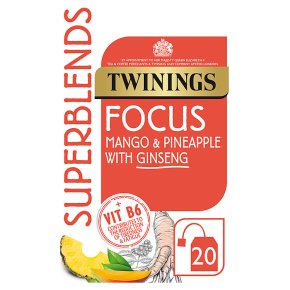 Twinings Superblends Focus 20 Tea Bags