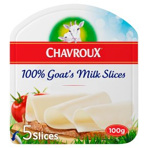Chavroux Pur Chèvre Slices