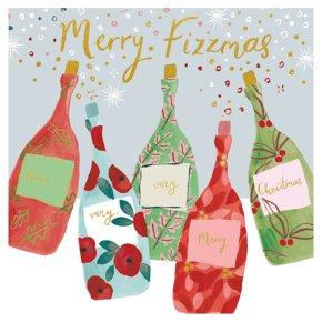 Prosecco Bottle Card