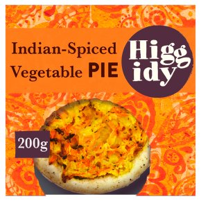 Higgidy Indian Spiced Vegetable Pie with Carrot Rosti