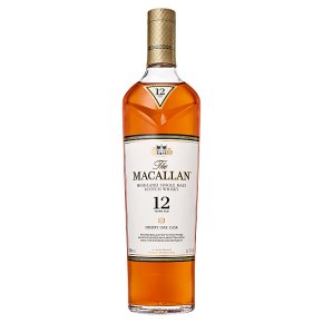The Macallan Sherry Oak 12 Year Old Single Malt Whisky Speyside, Scotland