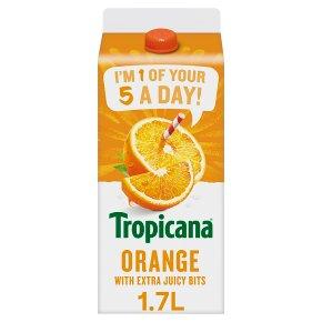 Tropicana Orange Juice with Extra Juicy Bits