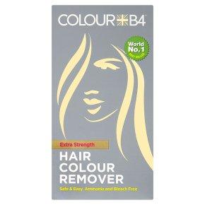 Colour B4 hair colour remover