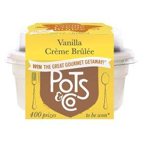 Pots & Co Vanilla Creme Brûlée