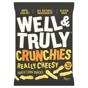 Well & Truly Crunchy Really Cheesy
