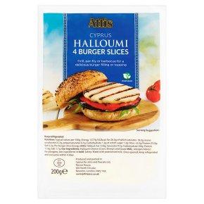 Attis Cyprus Halloumi 4 Burger Slices