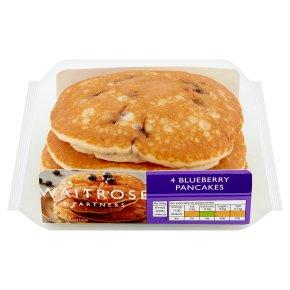 Waitrose American Style Blueberry Pancakes