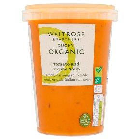 Duchy Organic Tomato & Thyme Soup
