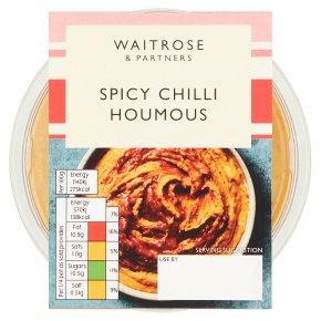 Waitrose Spicy Chilli Houmous