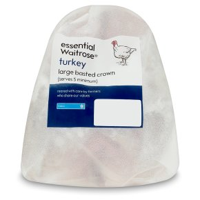 Essential Butter Basted Turkey Crown Large