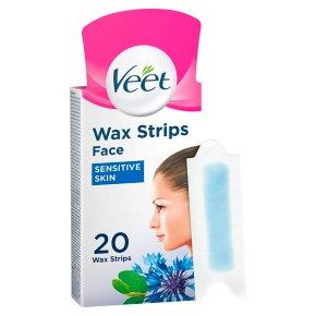 Veet Face Wax Strips with Easy-Gel