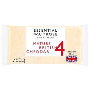 Essential Mature British Cheddar Strength 4