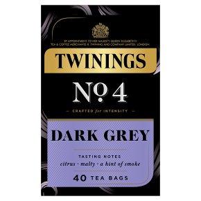 Twinings No.4 Dark Grey 40 Tea Bags