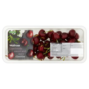 Waitrose Sweet & Juicy Cherries