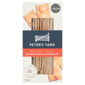 Peter's Yard Smoked Chilli Sourdough Flatbreads