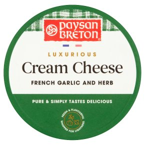 Paysan Breton Luxurious Cream Cheese Garlic & Herb