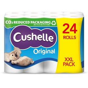 Cushelle white rolls