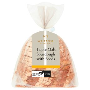 No.1 Malt Sourdough Bread with Seeds