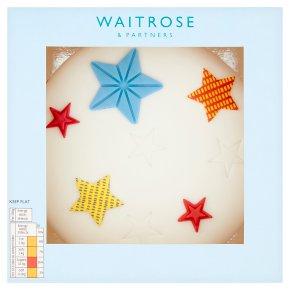 Waitrose Star Cake