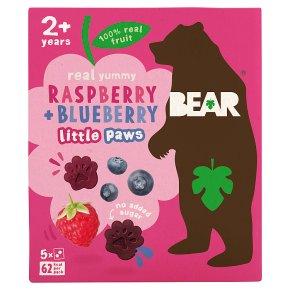 BEAR Paws Raspberry & Blueberry