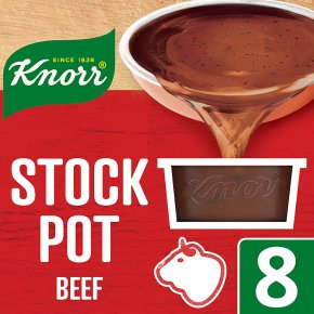 Knorr beef stock pot