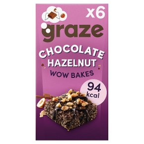 Graze Wow Bakes Chocolate Hazlenut