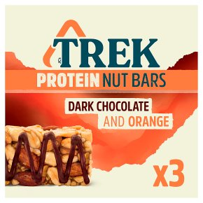 Trek Protein Nut Bars Dark Chocolate & Orange