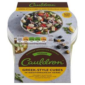Cauldron Vegan Greek-Style Cubes in Mediterranean Herbs