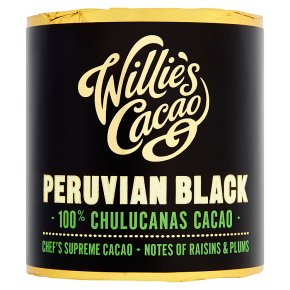 Willie's Cacao Peruvian Black