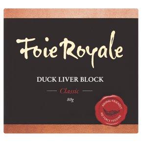 Foie Royale Duck Liver Block Classic