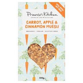 Primrose's Kitchen Raw Carrot, Apple & Cinnamon Muesli