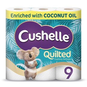 Cushelle Ultra Quilted with Coconut Oil
