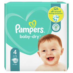 Pampers Baby-Dry 9-14kg Size 4