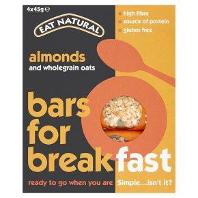 Eat Natural Bars for Breakfast Almonds