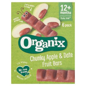 Organix Apple & Date Fruit Snack Bars